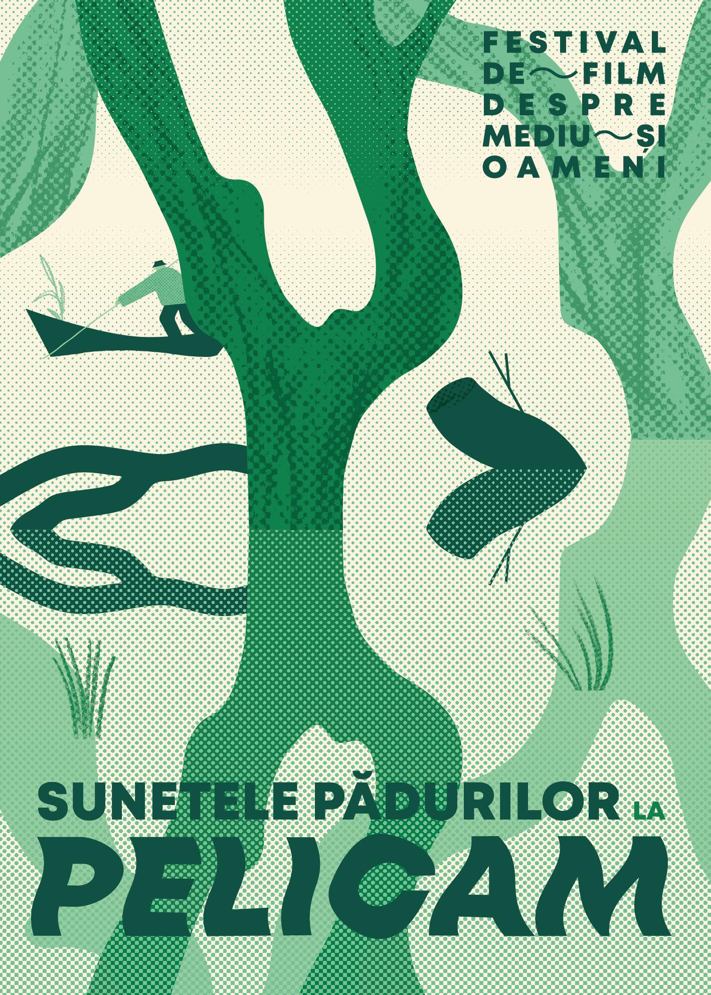 Pelicam și Greenpeace România lansează Sunetele Pădurilor: Pădurea nu e un film mut la Tulcea